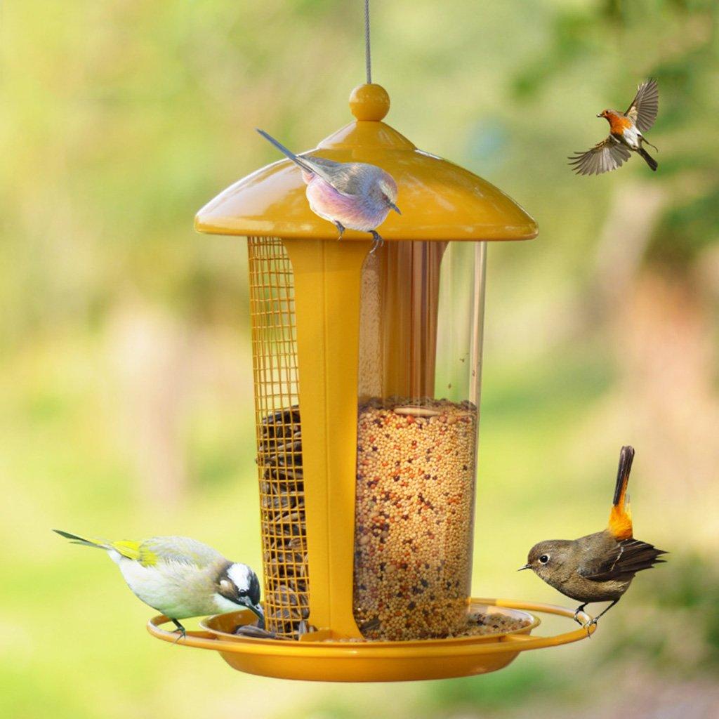 Outdoor Bird Feeder Bird Food Feeder Bird Food Storage Outdoor Bird Guide Balcony Outdoor Park Garden