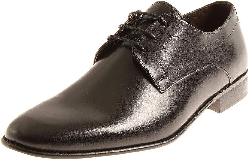 Manz Herrenschuhe Schnürschuhe Leder Schuhe Business Exclusiv 120050 Schwarz