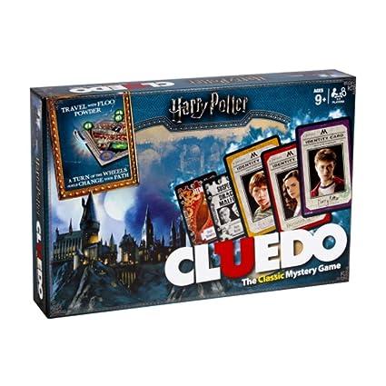 Harry Potter Cluedo Juego De Mesa De Misterio Idioma Ingles