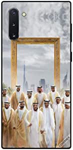 Case For Samsung Galaxy Note10 - UAE Rulers in Front of Dubai Frame