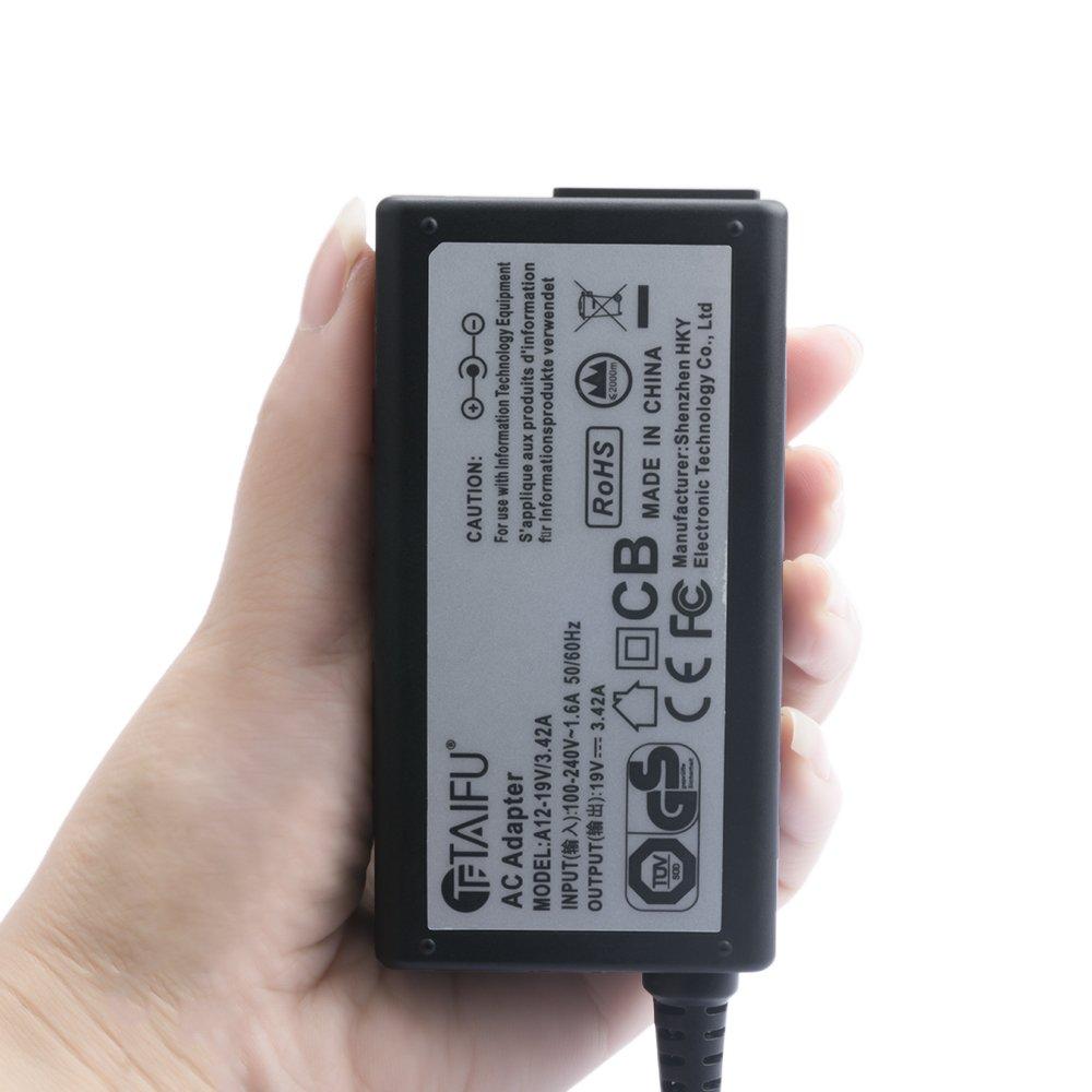 TAIFU 19V 3,42A 65W Cargador Portatil para ASUS F554L F555L F552C F551M X551M X555L X554L X54C X502CA K53E A52F ASUS ROG Swift PG278Q PG279Q PG348Q VS248HR ...
