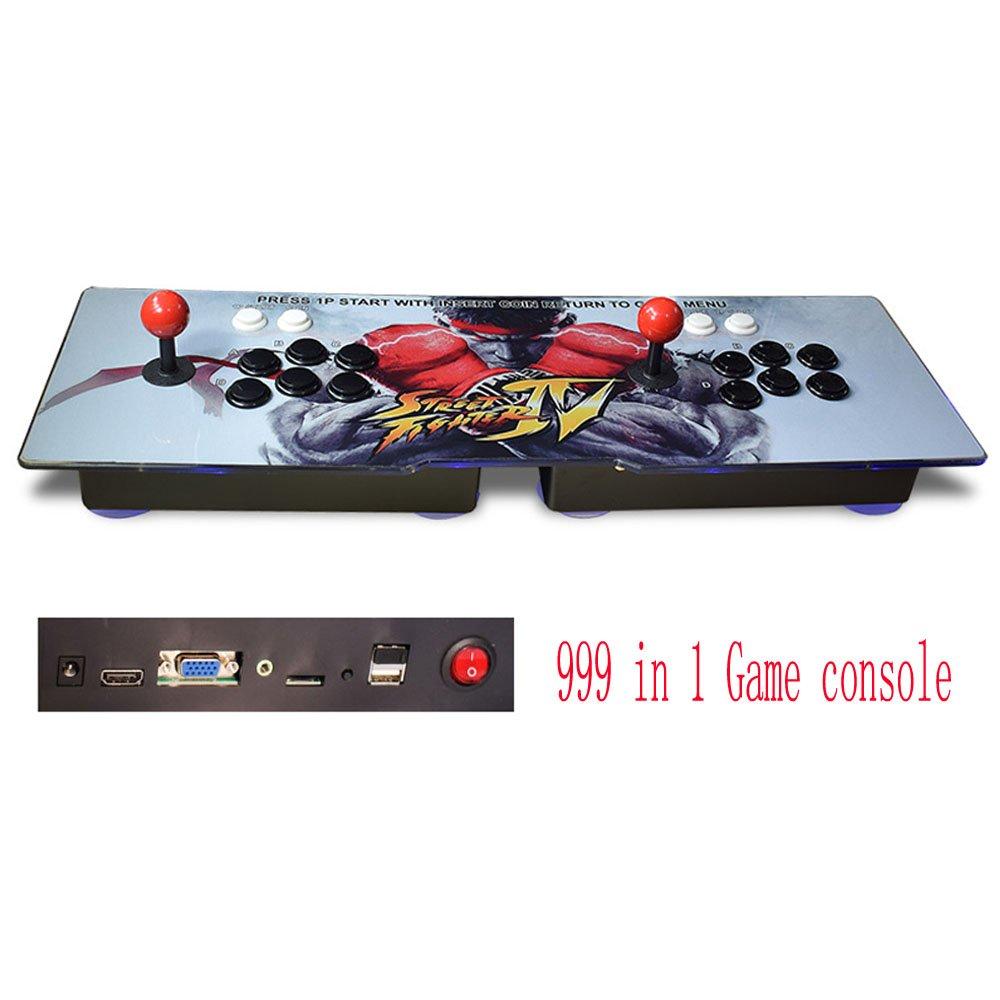 Tongmisi 999 in 1 arcade Video Game Console Retro Pandora's Box 5s Arcade Game Double Arcade Joystick VGA / HDMI Output