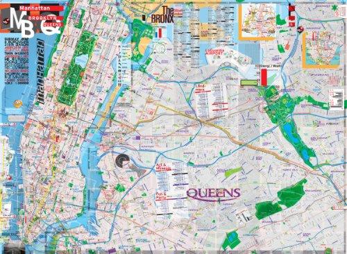 Brooklyn map manhattan List of