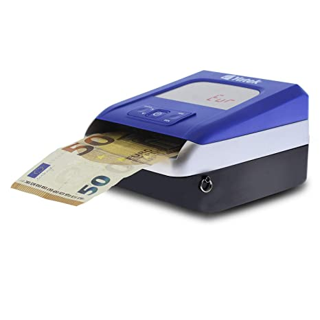 Detector de billetes falsos de Euro Yatek SE-0709B, 5 métodos de detección,