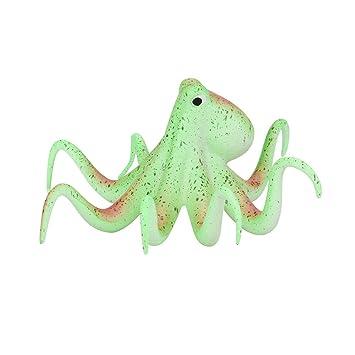 Taylorean_Acuario Paisaje Decorativo pecera Equipo Accesorios Octopus Adorno: Amazon.es: Productos para mascotas