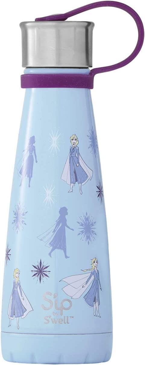 S'well 20010-G19-24840 Stainless Steel Water Bottle, 10oz, Queen of Arendelle