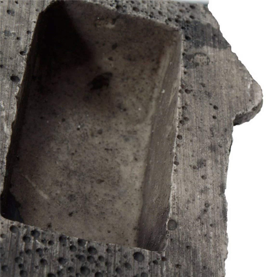 color: negro Apariencia /única Caja de piedra Caja de almacenamiento de seguridad Caja de seguridad port/átil Tama/ño peque/ño Teclas de escritorio Caja de almacenamiento Organizador