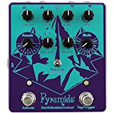 Pyramids is a Stereo Flanging Device with five presets, eight Flanger modes, tap tempo, tap subdivision, a multifunction Modify control, positive and negative Feedback, and a variable Mix control, which is something you don't see on a Flanger every d...