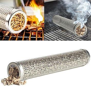Tubo para ahumar alimentos barbacoas parriilas generador de humo sabor ahumado en tus alimentos de CHIPYHOME