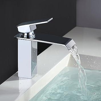 mitigeur fontaine flg bassin robinet fontaine salle de bains baignoire cascade robinet unique. Black Bedroom Furniture Sets. Home Design Ideas