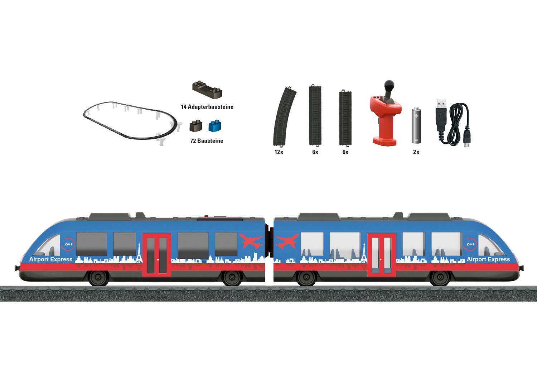Märklin 29307 Modelleisenbahn Startset, Mehrfarbig