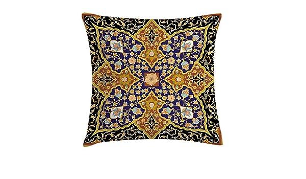 Amazon.com: fengyijiating Arabian Throw Pillow Cushion Cover ...