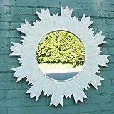 Bone Inlay Sun Mirror Frame