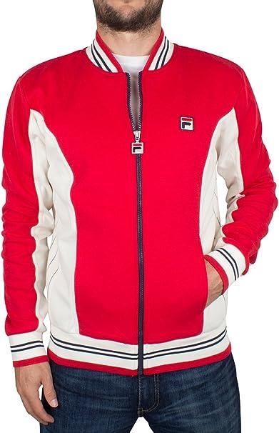 Fila Vintage Hombre Settanta Logotipo de la chaqueta de chándal ...