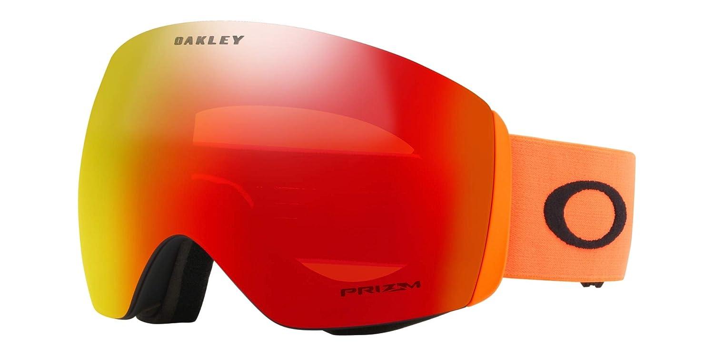 e5e00aad30 Amazon.com  Oakley Flight Deck Men s Snowmobile Goggles - 2018 Team Oakley Prizm  Torch Iridium Large  Sports   Outdoors