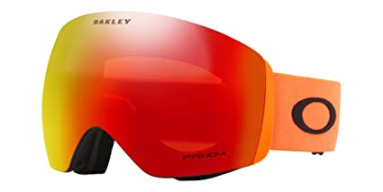 10f3bee41a Oakley Flight Deck Men s Snowmobile Goggles - 2018 Team Oakley Prizm Torch  Iridium Large