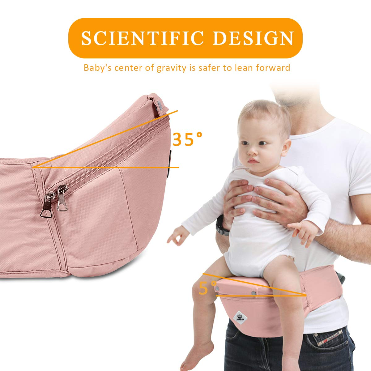 Light Green Adapted to Your Childs Growing,Easy to Carry and Easy Mom Ideal Gift SONARIN Multifunctional Hipseat Baby Carrier 100/% Cotton Breathable Straps Large Capacity Storage,11 Carrying Positions,Safe and Comfortable Ergonomic