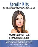 Brazilian Keratin Treatment - Professional Hair Straightening Kit 100ml (HAIRDRESSER'S KIT)