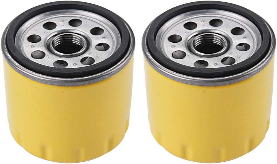 2PCS 52 050 02-S 25 050 34-S Oil Filter for Kohler CH11-CH25 CV11-CV22 M18-M20 MV16-MV20 K582 CV640 SV710 SV730 SV810 SV820 SV830 SV840 Engine