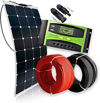Kit Solar Panel Solar Flexible 12V 160W Kit Especial ...