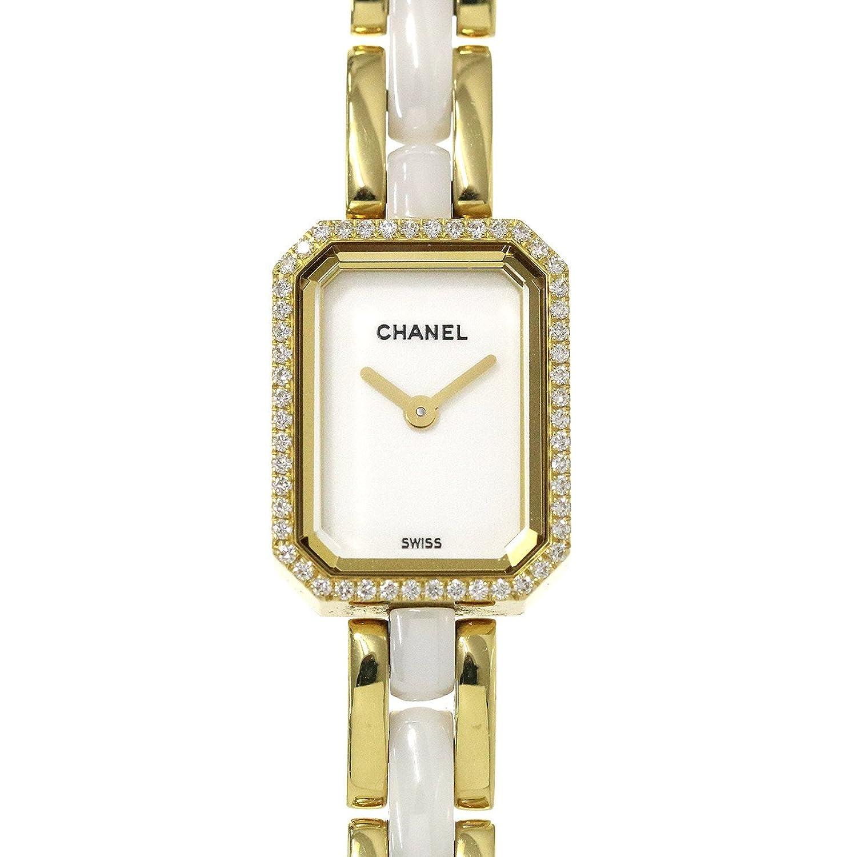 シャネル CHANEL H2435 プルミエール ダイヤベゼル セラミック レディース 腕時計 K18YG イエローゴールド 750 ウォッチ【中古】 90040535 [並行輸入品] B0793N3BVX