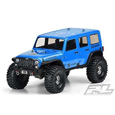 Pro-line Racing 1/10 Jeep Wrangler Unlimited Rubicon Clear Body: TRX-4, PRO350200: Toys & Games