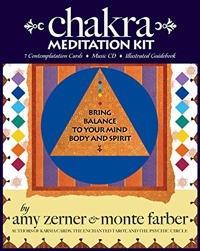 Chakra Meditation Kit: Bring Balance to Your Mind, Body and Spirit (Book, Cards, and CD)
