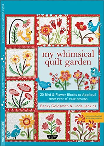 My Whimsical Quilt Garden 60 Bird Flower Blocks To Applique From Interesting Applique Patterns Flowers
