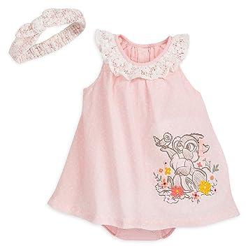 e14bc75b5d01 Amazon.com  Disney Thumper Romper Dress Set for Baby Size 0-3 MO  Baby