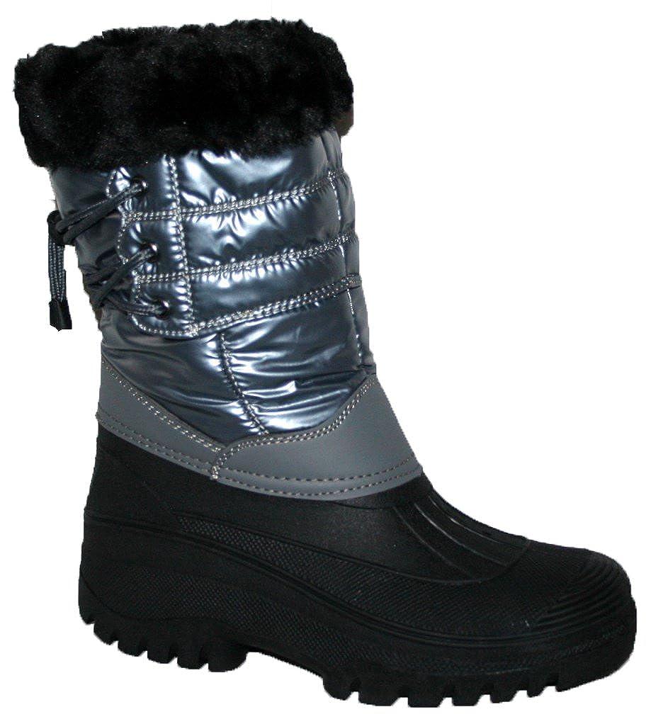 Damen-Gummistiefel, wasserdicht, robust, für Reiten, Wandern, Regen, Schnee, Winter, Ski, Gartenarbeit, Bauernhof
