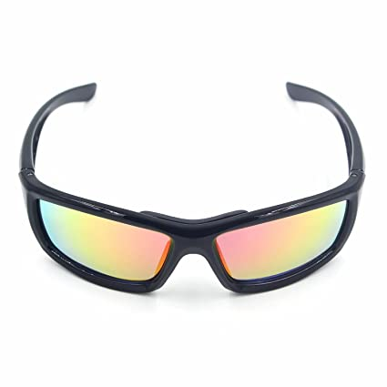 a9839e4d0e74 Amazon.com   Cuzaekii Polarized Cycling Glasses UV400 MTB Bike Riding  Hiking Fishing Sunglasses - JH-092   Sports   Outdoors