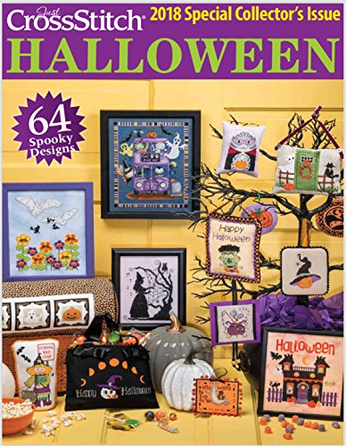 Just Cross Stitch HALLOWEEN 2018 Special Issue Publication -