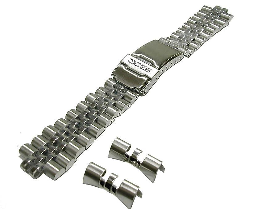 オリエントグラフィック石時計バンド 交換ベルトシリコーンゴム 腕時計ストラップ 20mm ブラック