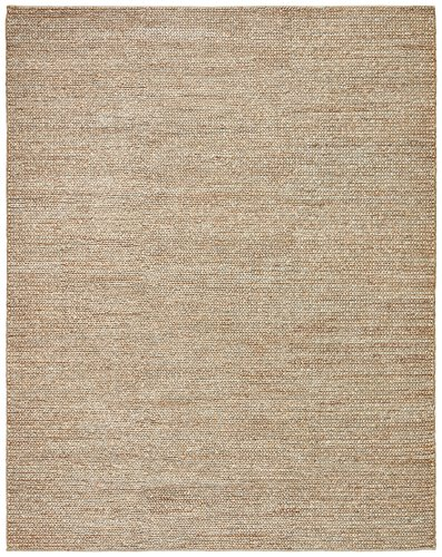 Stone & Beam Transitional Braided Jute Rug, 8' x 10', Sand by Stone & Beam