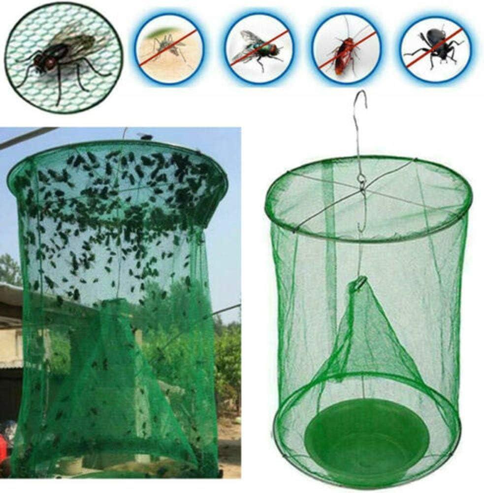Captador de insectos eficaz para el control de plagas reutilizable. potente jaula de red para matar plagas Lionge