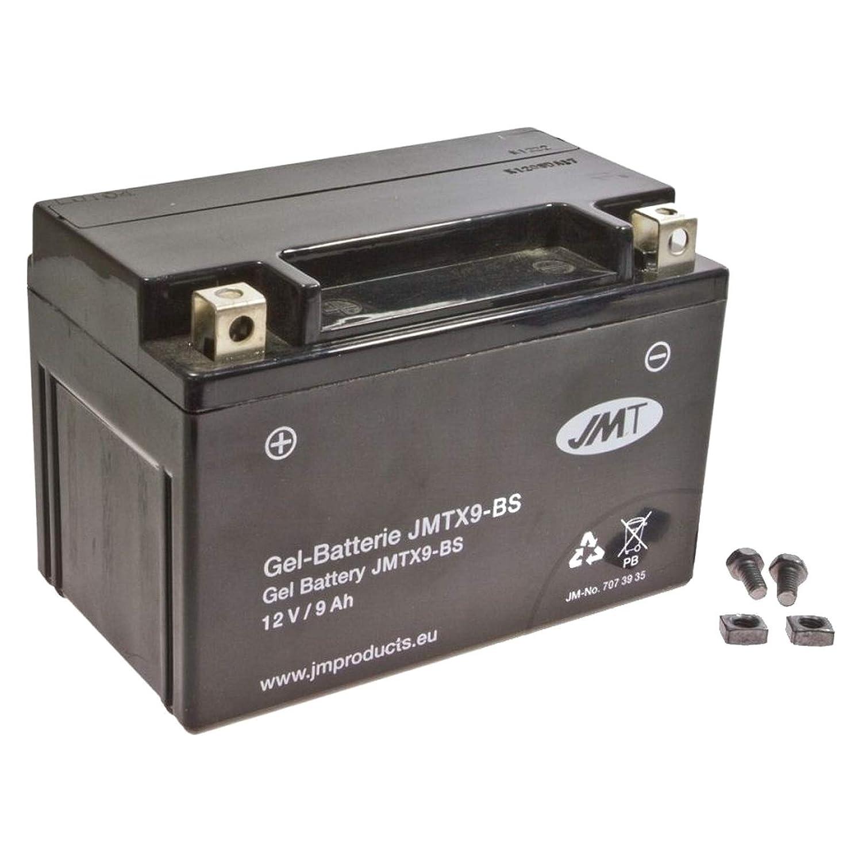 YTX9-BS JMT Gel Batterie f/ür Z 1000 A Baujahr 2003-2006