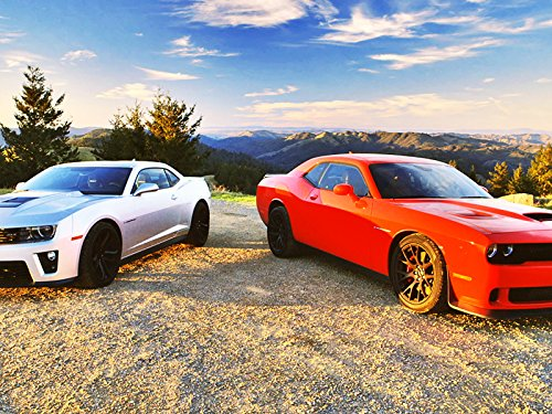 2015 Dodge Challenger SRT Hellcat vs. 2015 Chevrolet Camaro ZL1!