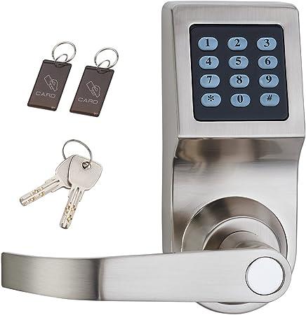 Amazon.com: Haifuan - Cerradura digital para puerta ...