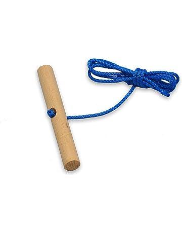Cuerda de Trineo de Cuerda deuba para Trineo con Mango de Madera
