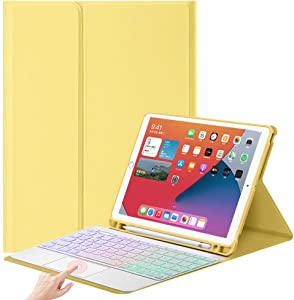 Keyboard Case with Touchpad for New iPad 10.2