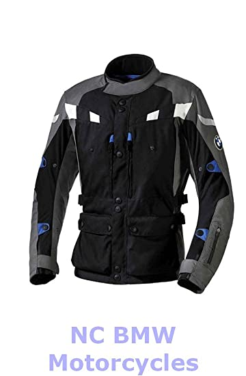 BMW Genuine Motorcycle Men GS Dry Riding Jacket Black / Anthracite Size 56