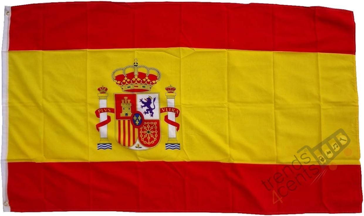 Bandera de España 150 x 250 cm: Amazon.es: Juguetes y juegos