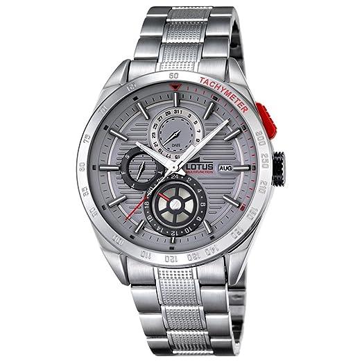 809db0dc828f Reloj Lotus caballero acero 18244 3  LOTUS  Amazon.es  Relojes