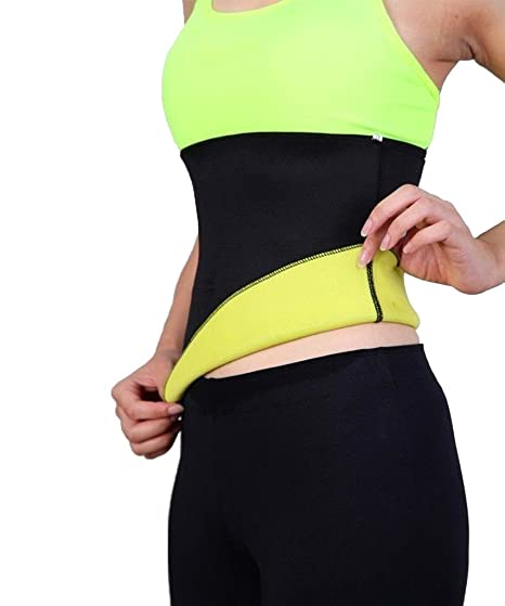 2f5e24d911 FLORATA Hot Thermo Sweat Neoprene Shapers Slimming Belt Waist Cincher  Girdle For Weight Loss Women   Men at Amazon Women s Clothing store