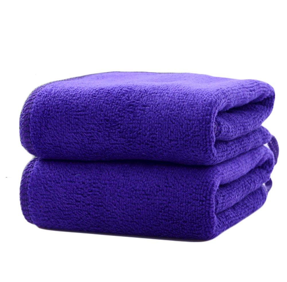 JUNGEN Niños toalla super suave microfibra toalla llana de pequeños Plaza Azul