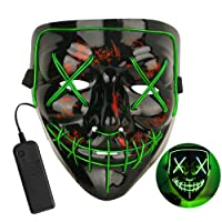 Yinqing LED Halloween Mask Deals