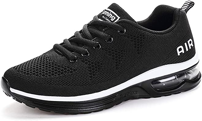 Etype Men Women Knit Fly Mesh Breathable Casual Sneakers Lightweight Walking Running Tennis Shoes