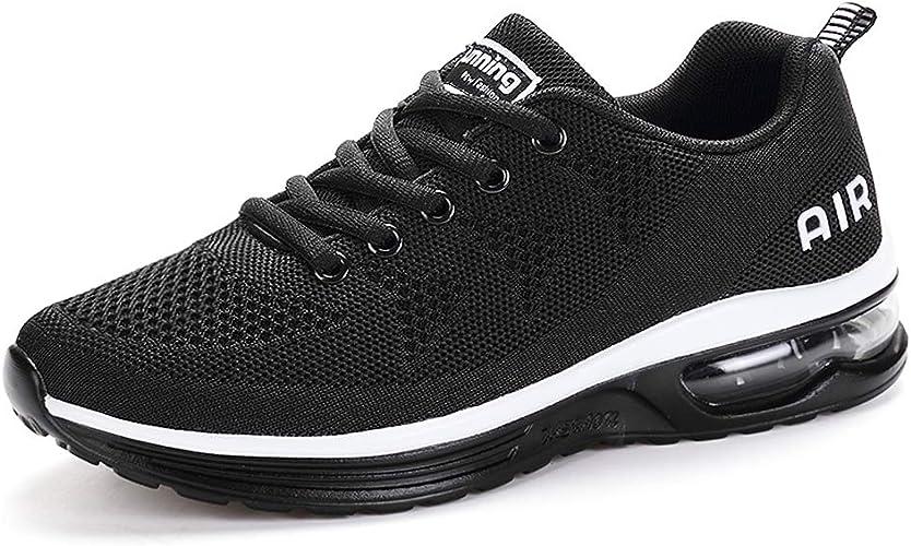 Monrinda Zapatillas de Deporte Calzado Deportivo Hombre Mujer Aptitud Velcro Zapatos para Correr Runing Sports Sneakers: Amazon.es: Zapatos y complementos