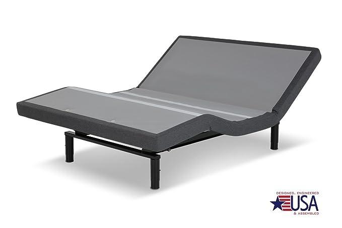 dynastymattress 15.5-inch atlantisbreeze Gel colchón de espuma de memoria con s-cape Juego de camas ajustable sistema de suspensión LEGGETT & Platt: ...