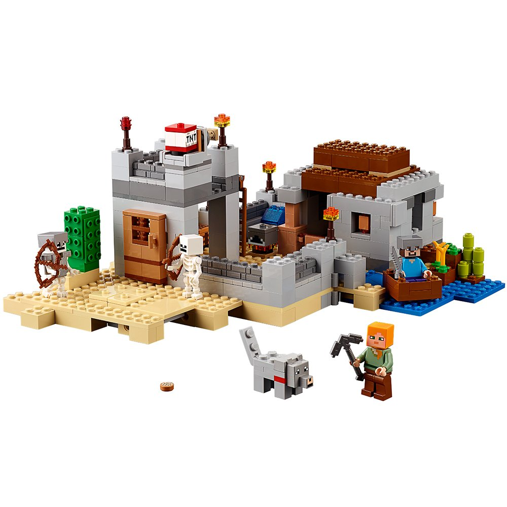 Lego Minecraft The Desert Outpost 21121 21132 Jungle Temple